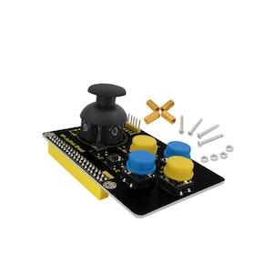 Joystick shield för Raspberry Pi