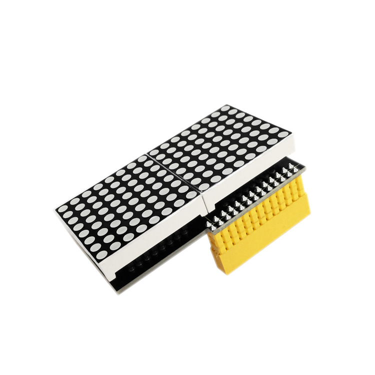 16 * 8 LED Matrix Shield Modul för Raspberry Pi