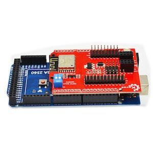 UNO R3  Web Sever serial port WiFi shield