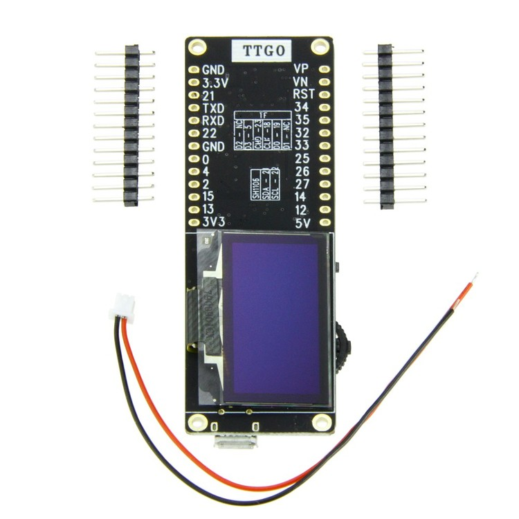 T-Eight Esp32 SH1106 1.3 inch OLED display
