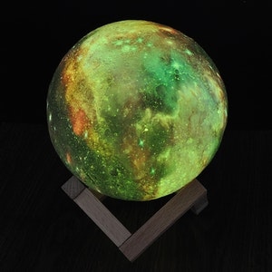 Månlampa LED 3D sfärisk