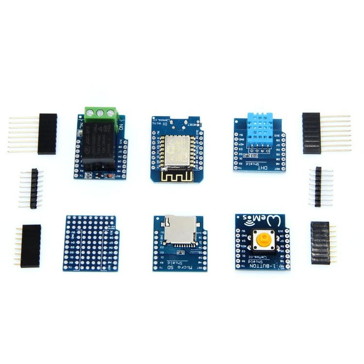 WeMos D1 mini wifi utvecklingskit NodeMCU