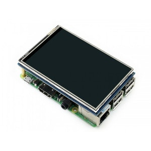 """LCD  3.5"""" skärm Raspberry Pi"""