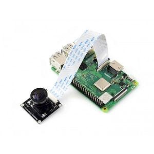 Raspberry Pi-kamera, Fisheye-objektiv