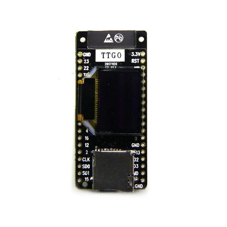 TTGO T2 ESP32 0.95 OLED SD-kort WiFi Bluetooth-modul