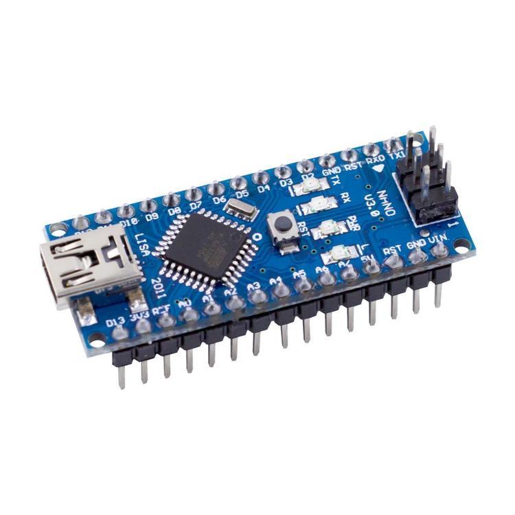 Nano v3.0, kompatibel med Arduino med USB kabel