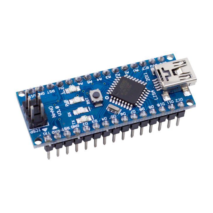 Nano v3.0 FT232RL med USB kabel, kompatibel med Arduino