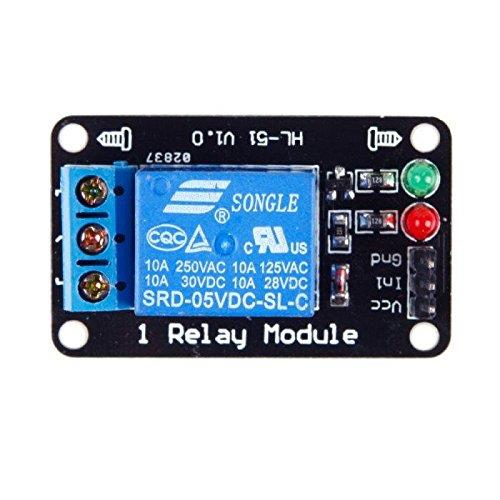1 Channel Relay Module with 5V Low Level Trigger