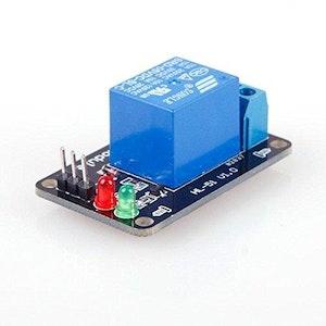 1 kanalrelämodul utan ljuskoppling 5V