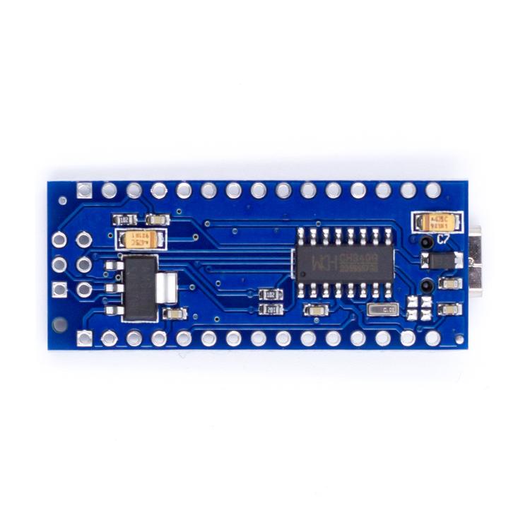 Nano v3.0, kompatibel med Arduino atmega328P med USB kabel