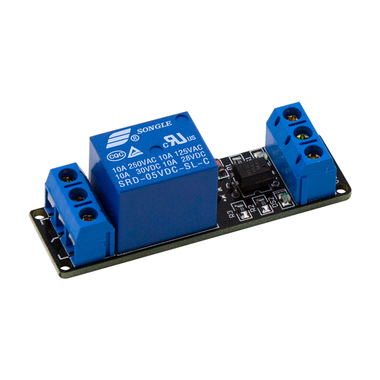 Relämodul  1x (1 Channel Relay Module with Light Coupling 5V)