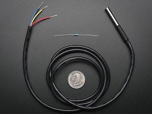 Waterproof DS18B20 Digital temperature sensor + extras