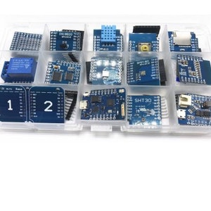 15 IN 1 D1 mini Pro WiFi development board KIT NodeMcu Lua mini D1 PRO wifi ESP8266 based on ESP8266
