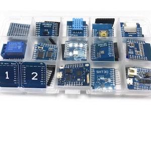 15 IN 1 D1 mini Pro WiFi development board KIT NodeMcu Lua mini D1 PRO wifi ESP8266 based on ESP8266
