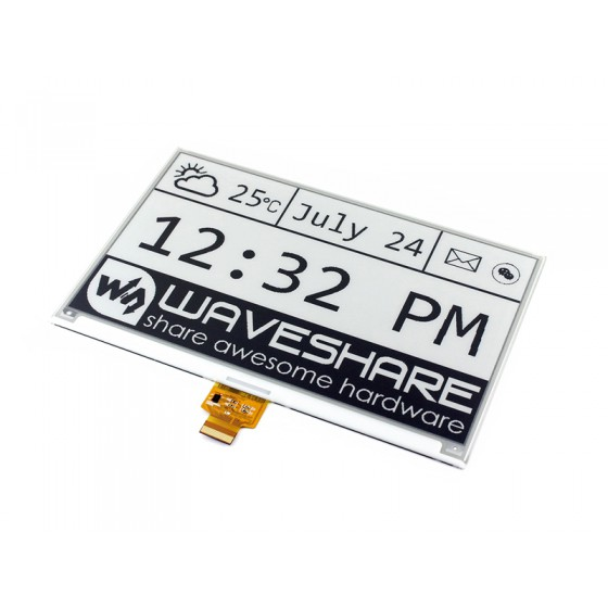 7.5inch E-Ink display and e-Paper ESP32 Driver Board (WiFi / Bluetooth)