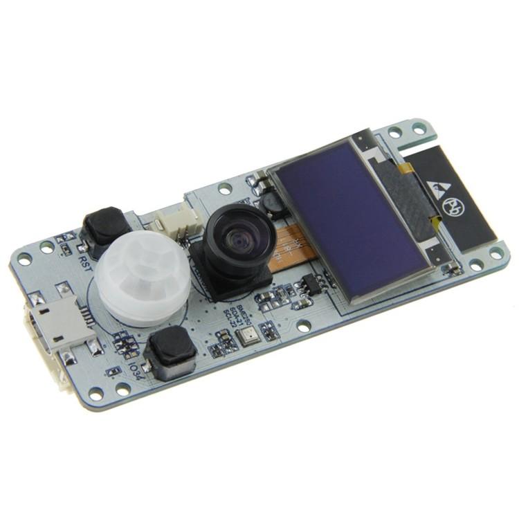 TTGO T-Camera ESP32 WROVER & PSRAM Camera Module ESP32-WROVER-B OV2640  Camera Module 0 96 OLED