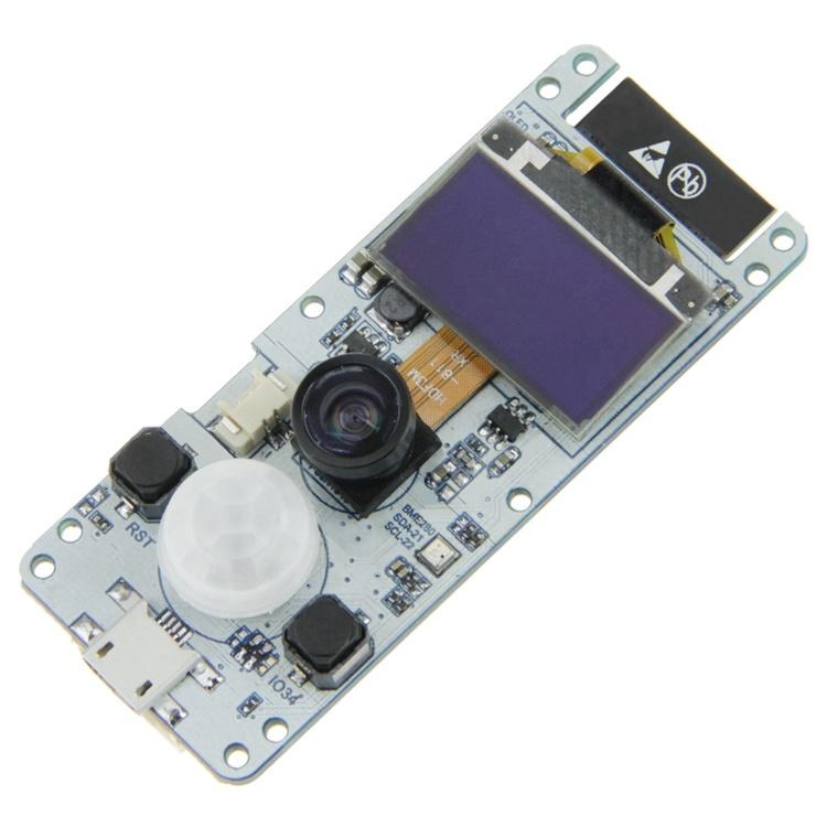TTGO T-Camera ESP32 WROVER & PSRAM Camera Module ESP32-WROVER-B OV2640  Camera Module 0 96 OLED - HiTechChain