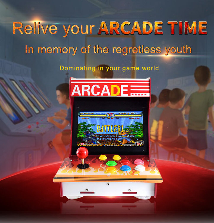 Arcade-101-1P, Arcade Machine Based on Raspberry Pi - HiTechChain