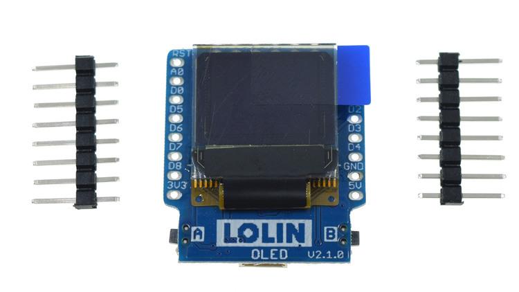 OLED Shield V2.1.0 for WeMos D1 mini