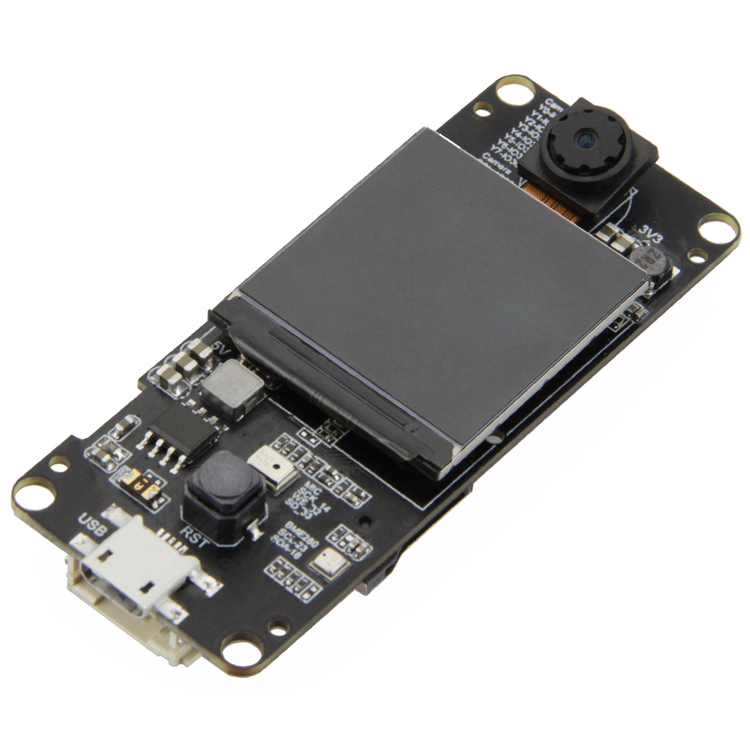 TTGO T-Camera Plus ESP32-DOWDQ6 8MB SPRAM Camera Module OV2640 1.3 Inch Display
