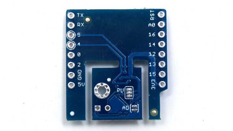 Digital temperature and humidity sensor shield for Lolin D1 mini SHT30