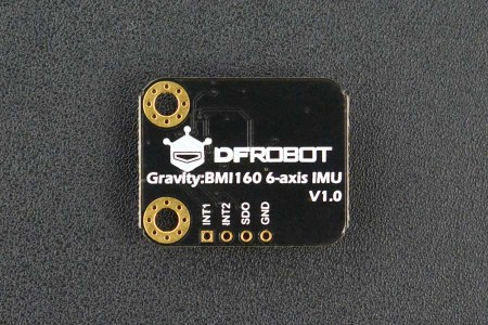 Gravity: Inertial Motion Sensor I2C BMI160 6-Axis Arduino