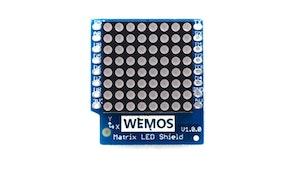 Matrix LED Shield V1.0.0 for WEMOS D1 mini