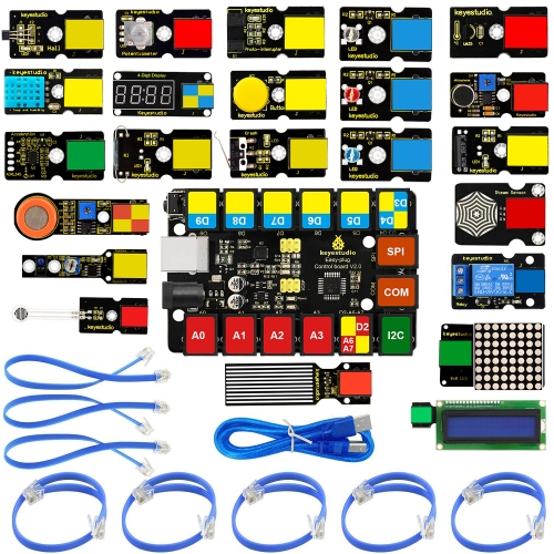 Keyestudio Plugin startpaket, compatible with Arduino