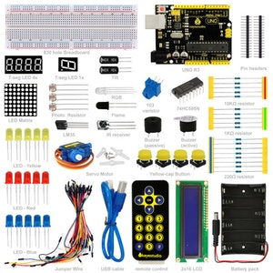 Grundläggande nybörjarpaket, kompatibel med Arduino