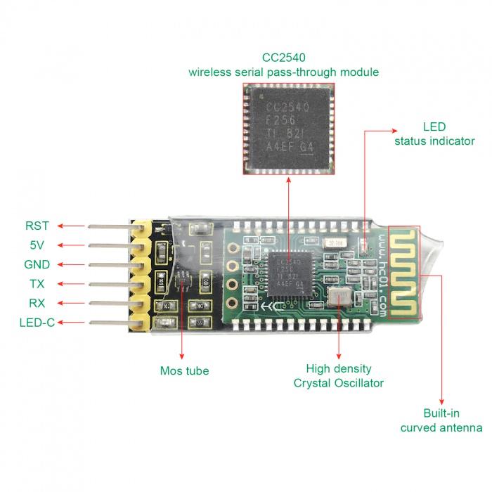Bluetooth module HC-08 BLE 4.0