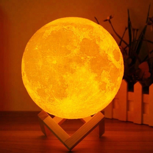 Moon lamp (3D månlampa)