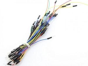 Kopplingsdäck (breadboard)  jumper wire