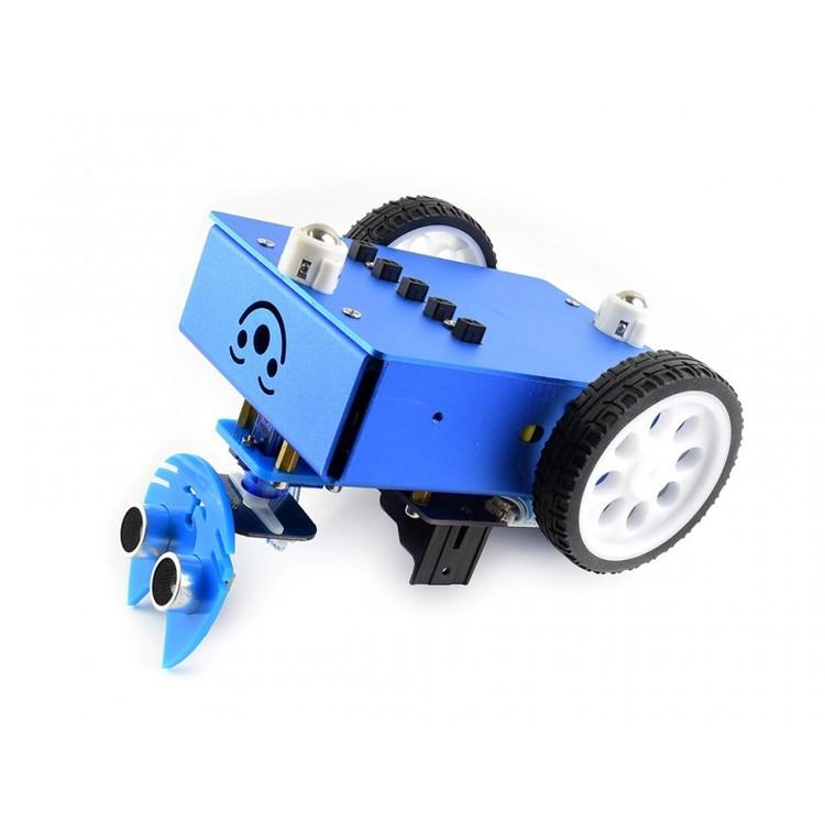 Micro:bit KitiBot 2WD robot building