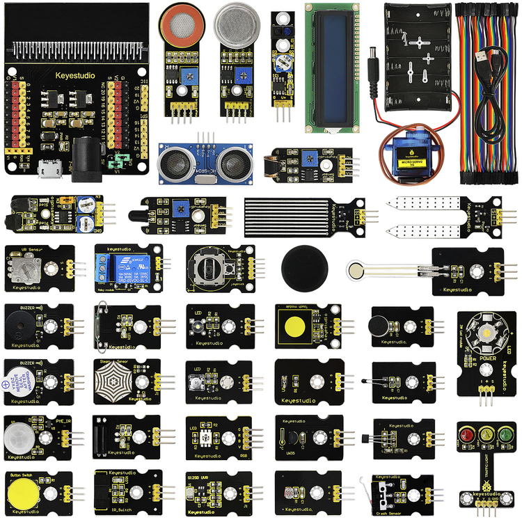Micro:bit 37 in 1 Sensor Starter Kit for BBC with Micro:Bit