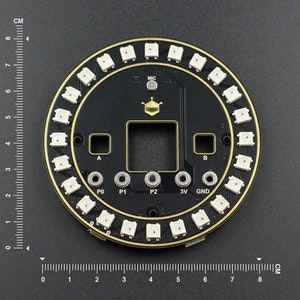 Micro:bit micro: Circular RGB LED Expansion Board