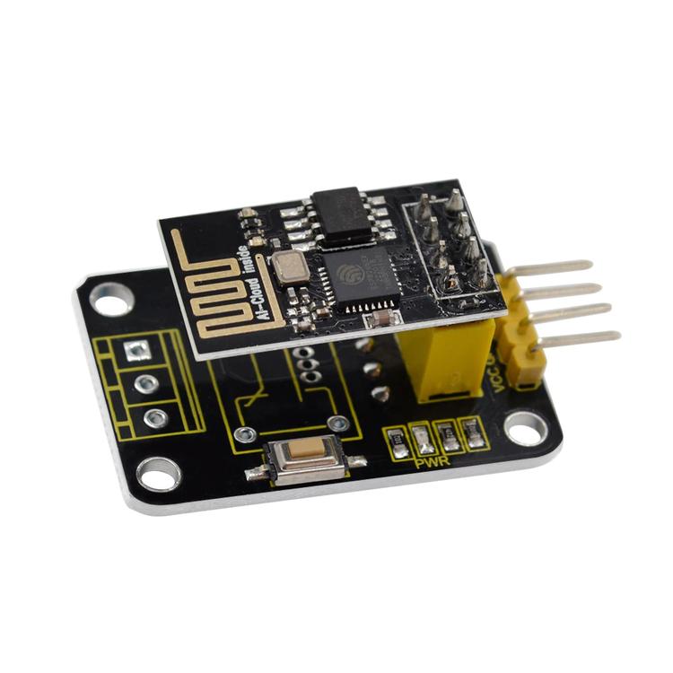ESP-01 Wifi Module and DS18B20 Temperature IoT Module