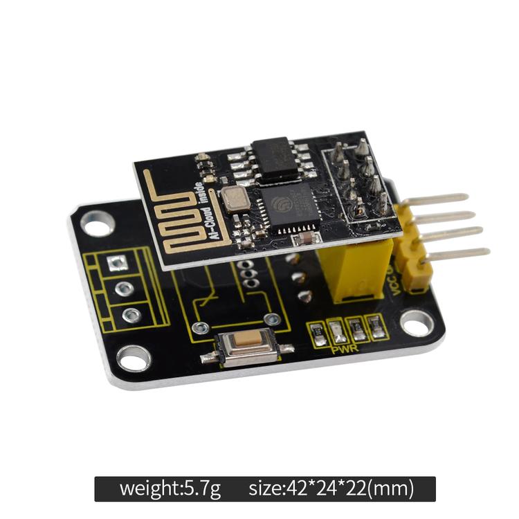 ESP 8266 WIFI och DHT11 temperatur och luftfuktighet Modul