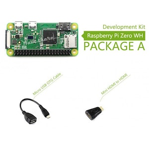 Raspberry Pi Zero WH kit A, Basic Development Kit