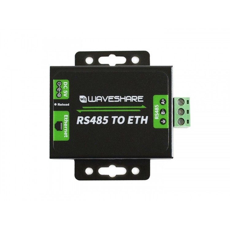 RS485 to Ethernet Converter, with EU Head