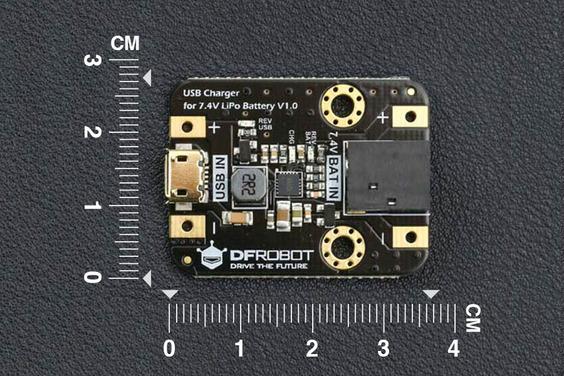 USB Charger for 7.4V LiPo Battery