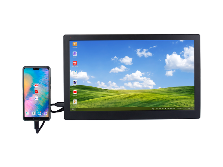 15.6 Inch 1920*1080 Full HD IPS Touch Screen Portable Monitor