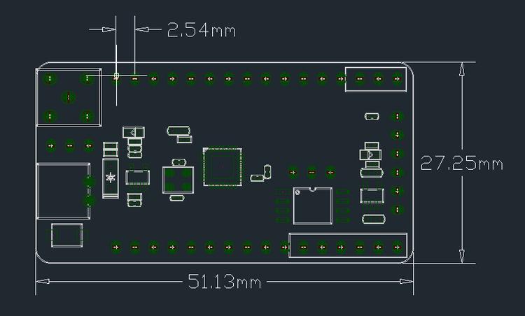 TTGO T-Deer Pro Mini Lora V02 LoRa 433MHz/868MHz/915MHz Mega328 For Arduino
