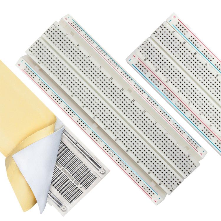 3PCS 830 Tie-Points Solderless Protoboard Breadboard Kit
