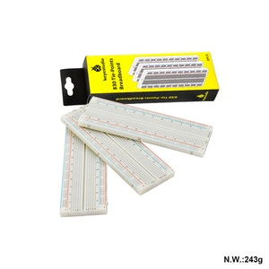 3PCS 830 Tie-Points Solderless Protoboard Breadboard Kit
