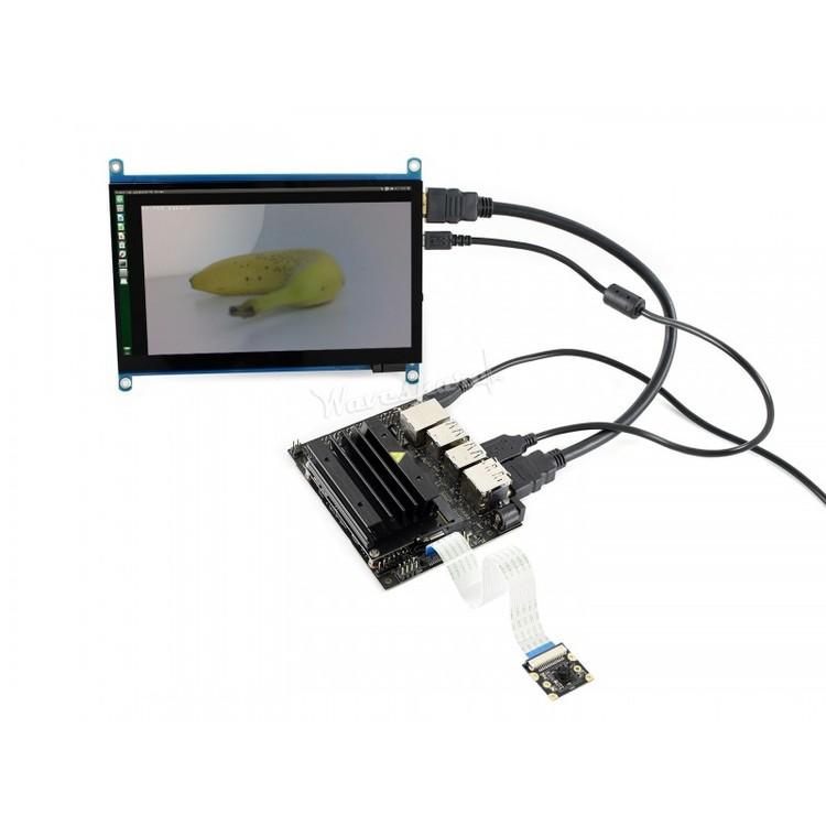 Jetson Nano Developer Kit 7inch Touch Display och Camera - HiTechChain
