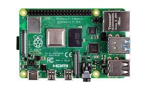 Raspberry Pi 4 Computer Model B 4GB with 10.1 inch 1200x1920 HDMI IPS LCD Display