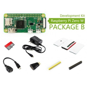 Raspberry Pi Zero W kit B, with Official Case