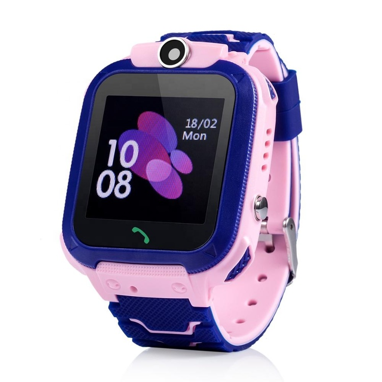 Barn GPS vattentät smartklocka med pekskärm och kamera