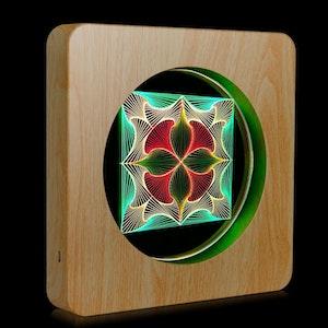 3D LED-lampa med touch sensor