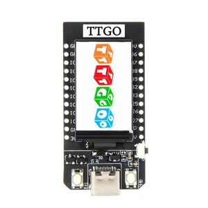 TTGO T-Display ESP32 WiFi and Bluetooth Module Development Board 1.14 Inch LCD
